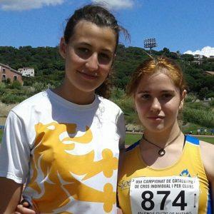 Dos atletes del MAC en els campionats d'Espanya Junior