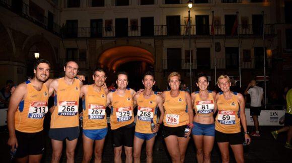 SET ATLETES AL CAMPIONAT D'ESPANYA DE 10Km EN RUTA